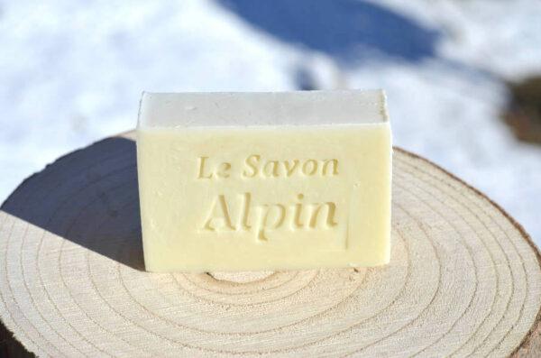 Savon nature et local fabriqué dans les Alpes