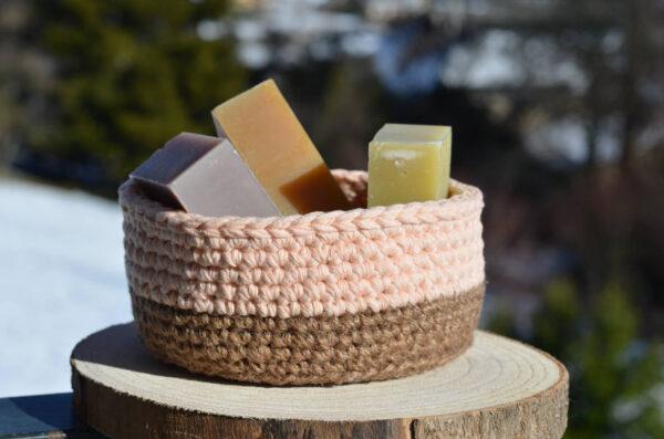 Savons solides artisanaux fabriqués dans les Alpes