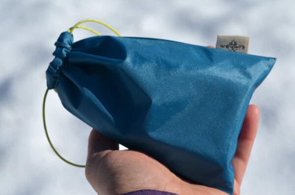 Pochette de transport pour savon solide artisanal