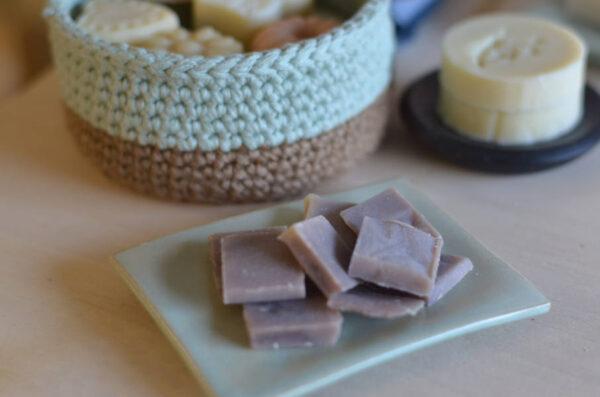 Mini savons à l'huile essentielle de lavandin