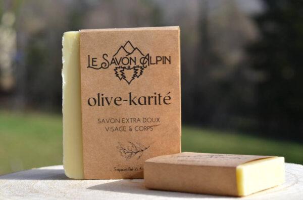 Un savon tout doux au beurre de karité