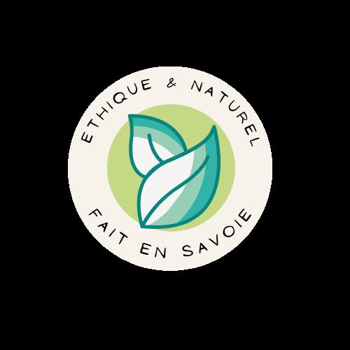 Logo éthique et naturel